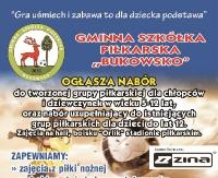 Trwają nabory do gminnej szkółki piłkarskiej Bukowsko
