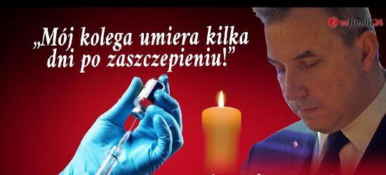 SUMLIŃSKI: Mój kolega umiera kilka dni po zaszczepieniu! Wysyp skutków ubocznych!?