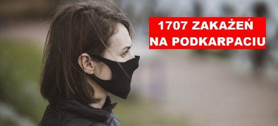 Ponad 1700 zakażeń na Podkarpaciu