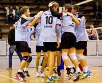 Młodzi siatkarze TSV zmiażdżyli przeciwnika. Sanok – Niebylec 3:0 (FOTORELACJA)