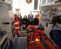 Nowa karetka i sprzęt ratujący życie dla ustrzyckiego szpitala (ZDJĘCIA)