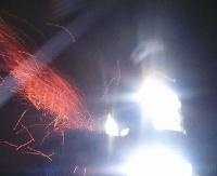 ZAGÓRZ: Płonąca sadza w kominie. Kolejny przypadek (ZDJĘCIA)