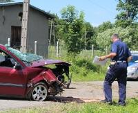 GMINA ZAGÓRZ: Poważny wypadek w Kalnicy. Ranni trafili helikopterem do szpitala w Lesku i Sanoku (ZDJĘCIA)