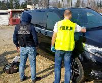REGION: Wpadli z kradzionymi samochodami (ZDJĘCIA)
