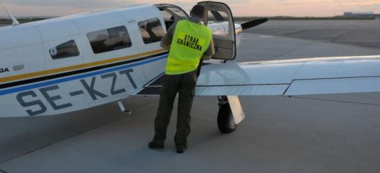RZESZÓW: Ekskluzywna nielegalna imigracja prywatnym samolotem