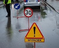 SANOK: Wypadek na skrzyżowaniu Konarskiego z 800-lecia. Ranna trafiła do szpitala w Krośnie