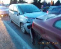 Karambol w Czerteżu. Dwie osoby trafiły do szpitala (ZDJĘCIA)