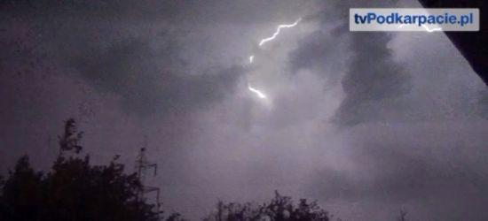 POWIAT SANOCKI: Burzowo, ale bez groźnych zdarzeń (VIDEO)