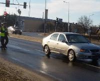 AKTUALIZACJA SANOK: Potrącenie pieszej na skrzyżowaniu Królowej Bony z Przemyską (ZDJĘCIA)