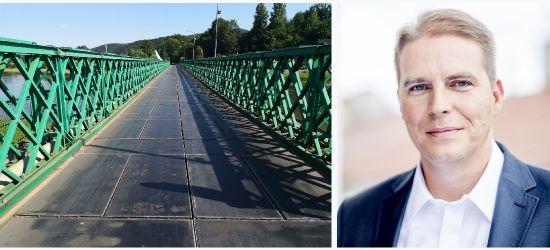 """Radny odpowiada staroście w sprawie mostu. """"Nie ma uchwały zarządu powiatu"""""""