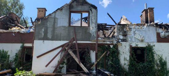 BIESZCZADY. Pożar pensjonatu zabrał dorobek życia. Zbiórka na odbudowę (ZDJĘCIA)