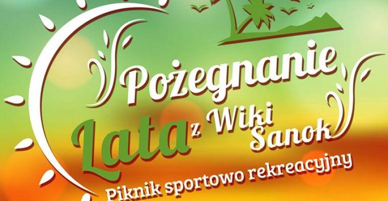 NIEDZIELA: Piknik sportowo-rekreacyjny. Pożegnanie Lata z Wiki Sanok