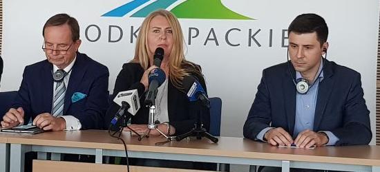 Elżbieta Łukacijewska wraz z członkami Komisji Transportu i Turystyki Parlamentu Europejskiego odwiedzili Podkarpacie