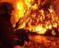 REGION: W porę zauważyli pożar spowodowany uderzeniem pioruna