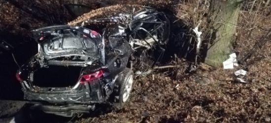 PODKARPACIE. Pijany 19-latek uderzył w drzewo! Cudem przeżył