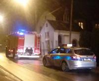 SANOK: Pożar budynku mieszkalnego. Jedna ofiara śmiertelna (ZDJĘCIA INTERNAUTY)