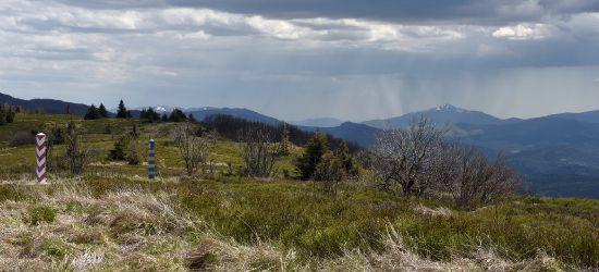 Widoki z rejonu Przełęczy Bukowskiej (FOTO)