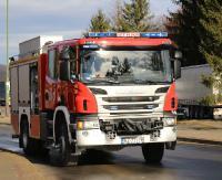 KRONIKA STRAŻACKA: Pożar samochodu, kolizje drogowe i płonące trawy