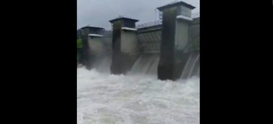 Wysoki stan wody w Solinie! Konieczny kolejny zrzut! (VIDEO)