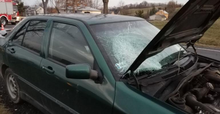 Wypadek w Besku. Nie żyje kobieta (VIDEO, FOTO)