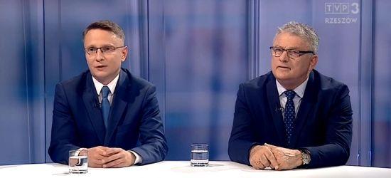 SANOK: Rozmowa liderów o sporcie w regionalnej TVP (FILM)
