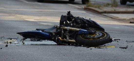 PODKARPACIE: Śmiertelny wypadek. Motocyklista uderzył w dwa samochody