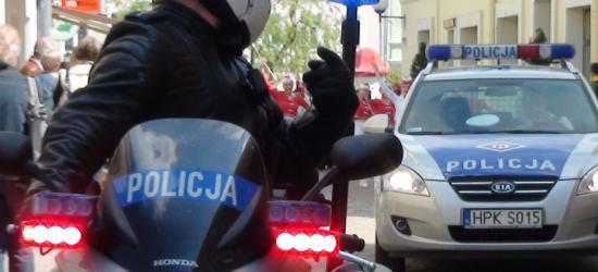 Pijany kierowca zatrzymany przez policjantów