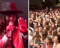 Publiczność śpiewała razem z zespołem Łzy (FILM, ZDJĘCIA)