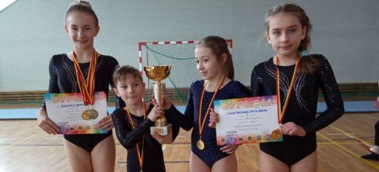 """Złote gimnastyczki z """"Jedynki"""". Młode talenty z Sanoka (FOTO)"""