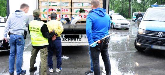 Siedmiu imigrantów ukrytych w arbuzach (ZDJĘCIA)