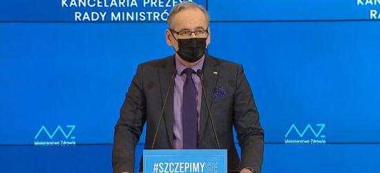 Konferencja prasowa ministra zdrowia: Będą zniesione obostrzenia? (NA ŻYWO)