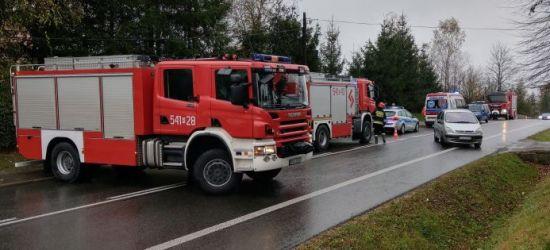SANOK: Utrudnienia na Lipińskiego. Jedna osoba poszkodowana (FOTO)