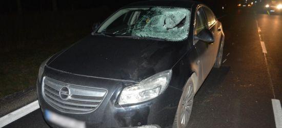 REGION: Pieszy ucierpiał w wypadku drogowym. Był pijany (ZDJĘCIE)