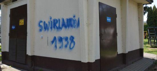 REGION. 21-letni graficiarz pomalował 8 budynków. Grozi mu 5 lat więzienia