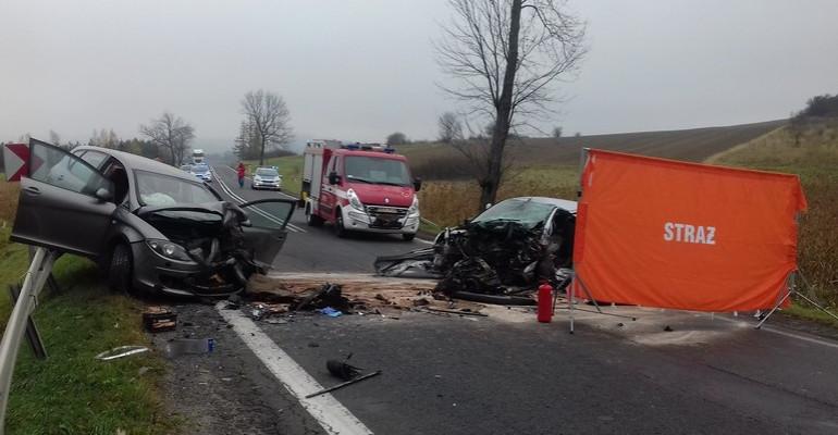 Śmiertelny wypadek. Nie żyje 70-letni kierowca (FOTO)