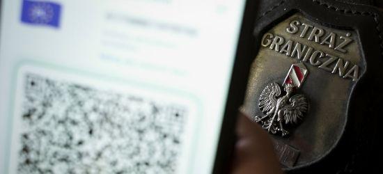 Podrobione certyfikaty na granicy