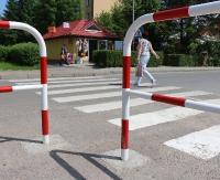 SANOK: Są barierki, jest zdecydowanie bezpieczniej (ZDJĘCIA)