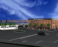 SANOK: Dworzec multimodalny i autobusy niskoemisyjne za 28 milionów złotych (WIZUALIZACJA)