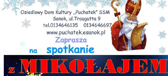 """Spotkanie ze św. Mikołajem! Przyjedzie do """"Puchatka"""""""