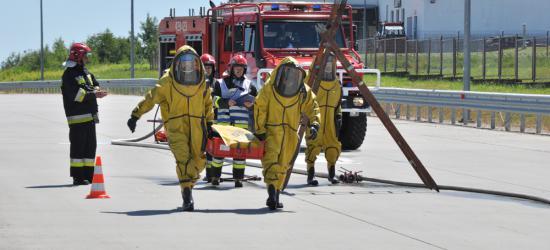 GRANICA: Rozszczelnione cysterny z materiałami niebezpiecznymi (FOTO)