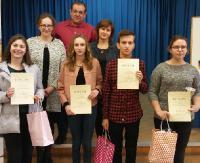 Konkurs Języka Niemieckiego dla gimnazjalistów i uczniów klas siódmych szkół podstawowych