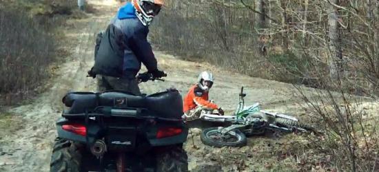 REGION: Szukali wrażeń, a spotkali się ze strażnikami leśnymi (FILM)
