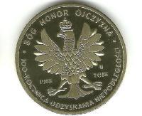 Moneta na setną rocznicę odzyskania niepodległości (ZDJĘCIA)