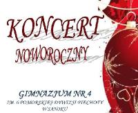 NASZ PATRONAT: Koncert Noworoczny w Gimnazjum nr 4 w Sanoku