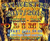 """Szampańska Zabawa Sylwestrowa w barze """"Olimp"""""""