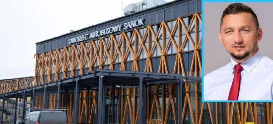 Co burmistrz Sanoka sądzi o ledowej iluminacji dworca? (WYWIAD)