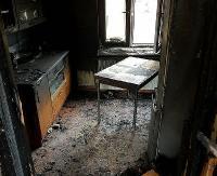 """AKTUALIZACJA SANOK: Dramat na """"Szklanej Górce"""". Mężczyzna zginął w pożarze, rodzina potrzebuje pomocy (ZDJĘCIA NOWE)"""