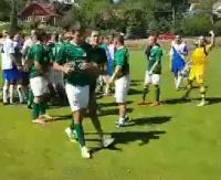 """GMINA ZAGÓRZ: Awantura podczas turnieju o Puchar Burmistrza Zagórza. Piłkarze """"wzięli się za łby"""" (FILM)"""