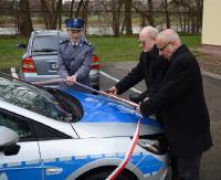 Nowy radiowóz w sanockiej komendzie Policji (ZDJĘCIA)