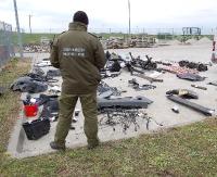 80 części z kradzionego Mercedesa. Wartość: 100 tys. zł (ZDJĘCIA)